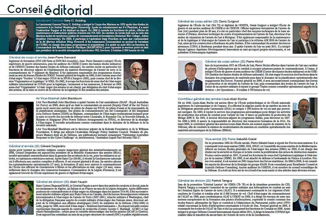 Conseil Editorial 2015